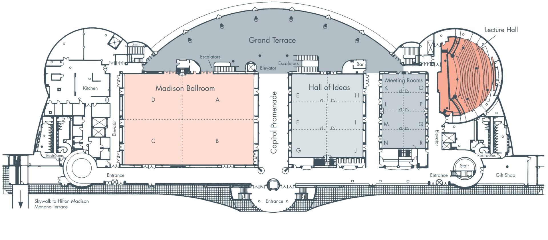 Level 4 floorplan