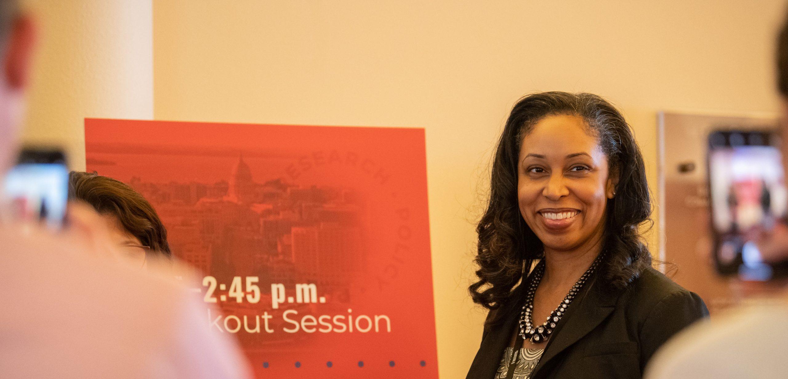 Assistant Director Christina Orr of the Milwaukee VA Medical Center.